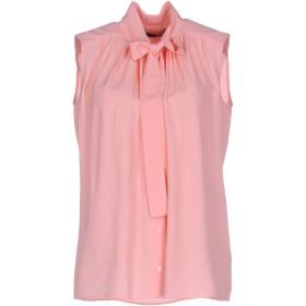 《セール開催中》LOVE MOSCHINO レディース シャツ ピンク 44 69% アセテート 31% シルク