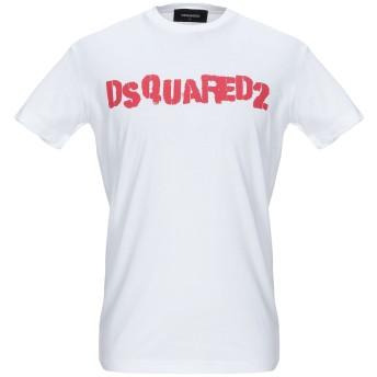 《セール開催中》DSQUARED2 メンズ T シャツ ホワイト XS コットン 100%