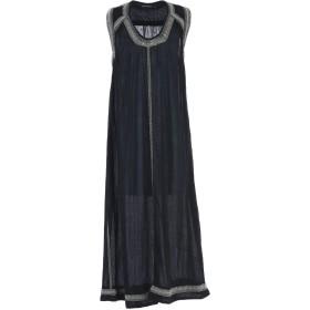 《期間限定セール開催中!》ANTIK BATIK レディース ロングワンピース&ドレス ブラック 40 コットン 100%