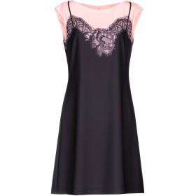 《セール開催中》BOUTIQUE MOSCHINO レディース ミニワンピース&ドレス ブラック 40 ポリエステル 95% / 指定外繊維 5%