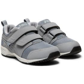 asics アシックス こども靴(グレイ)16.0→22.0cm 21.0cm キッズ