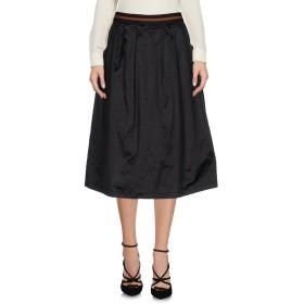《期間限定セール開催中!》NO-N レディース 7分丈スカート ブラック XS ポリエステル 63% / コットン 32% / 指定外繊維 5%