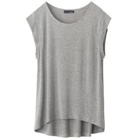 リエディ Re: EDIT UネックシンプルTシャツ (杢グレー)