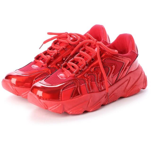 ジーアンドジー G & G スニーカー 靴 シューズ カジュアル (レッド)