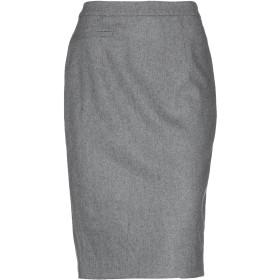 《期間限定セール開催中!》MARIELLA ROSATI レディース ひざ丈スカート グレー 42 ウール 78% / ナイロン 21% / ポリウレタン 1%