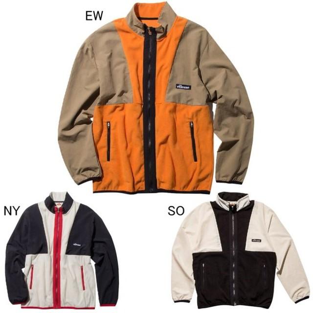 エレッセ メンズファッション フリースジャケット ハイブリッドフルジップジャケット ellesse EH79302