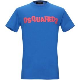 《期間限定セール開催中!》DSQUARED2 メンズ T シャツ ブルー S コットン 100%