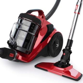 Vaclife 掃除機 キャニスター型 スティック コード式掃除機 5Mコード付き コンパクト 家庭用式クリーナー 超吸引 軽量 大容量 3種類ブラシ付き