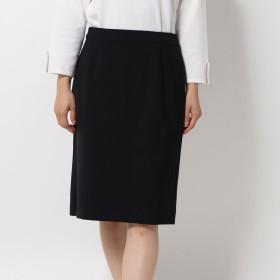 コムサイズム COMME CA ISM ウールトロ セットアップスカート (ブラック)