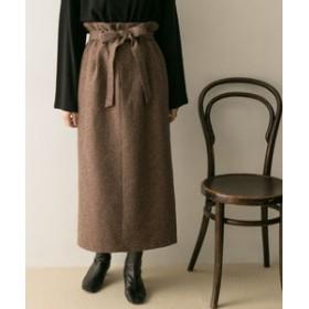 【URBAN RESEARCH:スカート】ハイウエストツイードスカート