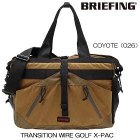ブリーフィング トランジション ワイヤー ゴルフ X-PAC 2WAYトートバッグ(BRG183818)