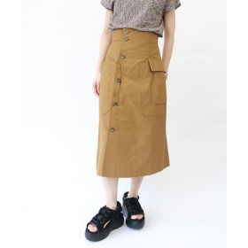 G.V.G.V.(ジーヴィージーヴィー)/CARGO POCKET COTTON CANVAS SKIRT