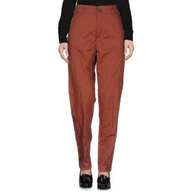 《セール開催中》FORTE_FORTE レディース パンツ 赤茶色 2 コットン 96% / ステンレス 4%