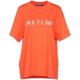 《期間限定セール開催中!》HAUS GOLDEN GOOSE レディース T シャツ オレンジ S コットン 100%
