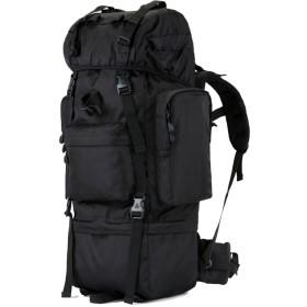 100Lアウトドアキャンプ登山バッグ、男性と女性のバックパック旅行バッグ、大容量戦術的な山の旅行のリュックサックZDDAB