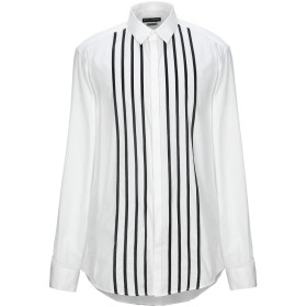 《期間限定セール開催中!》DOLCE & GABBANA メンズ シャツ ホワイト 45 コットン 100%