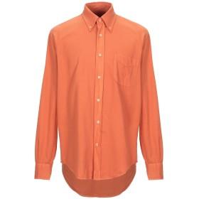 《セール開催中》DOLCE & GABBANA メンズ シャツ オレンジ 41 コットン 100%