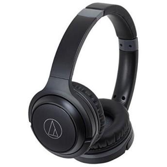 オーディオテクニカ Bluetooth対応ワイヤレスヘッドホン(ブラック)audio-technica ATH-S200BT BK
