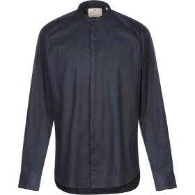 《期間限定セール開催中!》GABARDINE メンズ シャツ ダークブルー XL コットン 97% / ポリウレタン 3%