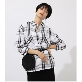 【AZUL by moussy:トップス】CHECK OVER SHIRT