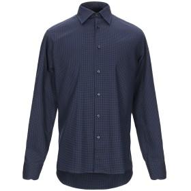 《期間限定セール開催中!》A.DI CAPUA メンズ シャツ ブルー 39 コットン 100%