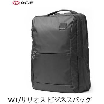 バッグ 鞄 ビジネスリュック PC13インチ収納ポケット有り WorldTraver WT マリカ 止水 キャリーオン ACE  WT サリオス ショルダー ビジネス 【AE-2994107】