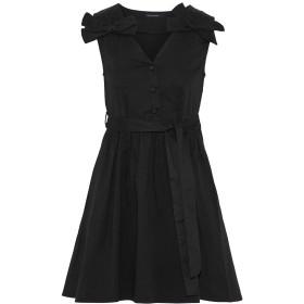 《セール開催中》WALTER BAKER レディース ミニワンピース&ドレス ブラック XS コットン 100%