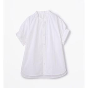 【トゥモローランド/TOMORROWLAND】 コットンタイプライター ギャザーシャツ