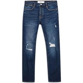 《期間限定セール開催中!》TOPMAN メンズ ジーンズ ブルー 28W-32L コットン 98% / ポリウレタン 2% DW DAMAGE SLIM