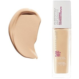 (3 Pack) MAYBELLINE Superstay Full Coverage Foundation - Classic Ivory 120 (並行輸入品)