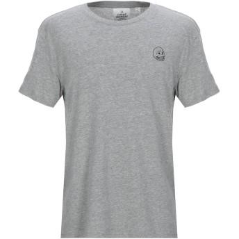 《セール開催中》CHEAP MONDAY メンズ T シャツ グレー S コットン 100%