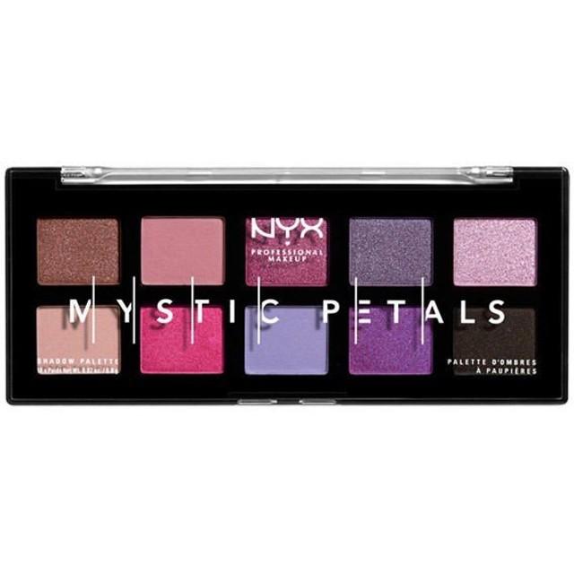 NYX Professional Makeup(ニックス) ミスティック ペタル シャドウ パレット 01 カラー・ミッドナイトオーキッド