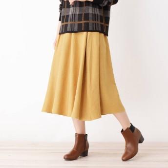 3can4on(Ladies)(サンカンシオン:レディース)/メランジコールスカート