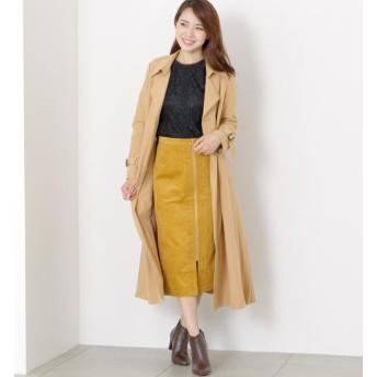 【ミューズ リファインド クローズ/MEW'S REFINED CLOTHES】 バックプリーツトレンチコート