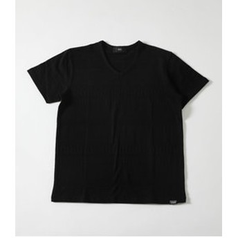 【AZUL by moussy:トップス】【MEN'S】SHADOW CHIMAYO V/N TEE