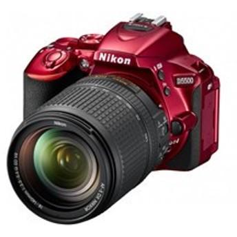 Nikon / ニコン デジタル一眼レフカメラ D5500 18-140 VR レンズキット [レッド]