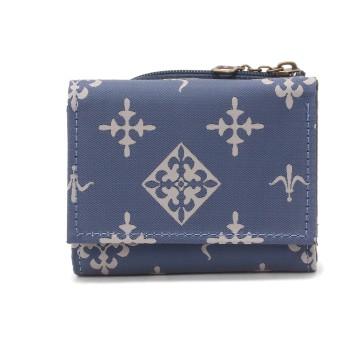 Daily russet(デイリーラシット)/【NEWジャガード】三つ折りミニ財布