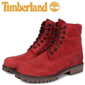 ティンバーランド Timberland ブーツ 6インチ ヘリテージ プレミアム メンズ ウォータープルーフ HERITAGE 6INCH PREMIUM WATERPROOF BOOT レッド A24WD