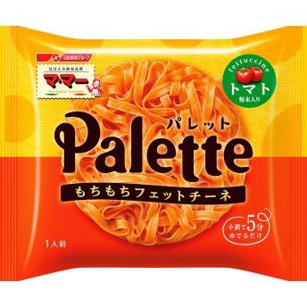 マ・マー Palette フェットチーネ トマト粉末入り(簡単パスタ、小鍋で5分のもちもち食感)80g ×10袋