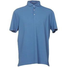 《期間限定セール開催中!》GRAN SASSO メンズ ポロシャツ ブルー 60 コットン 100%