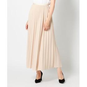 【56%OFF】 ミューズ リファインド クローズ ウィンタープリーツミモレスカート レディース ベージュ M 【MEW'S REFINED CLOTHES】 【セール開催中】