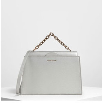 【CHARLES & KEITH:バッグ】【2019 SUMMER】タックイン フラップバッグ / Tuck-In Flap Bag
