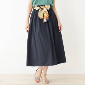 grove(グローブ)/スカーフベルト付きギャザースカート