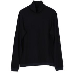 ESTNATION / REDA ACTIVE タートルネックカットソー ネイビー/LARGE(エストネーション)◆メンズ Tシャツ/カットソー