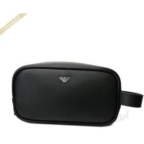 エンポリオアルマーニ EMPORIO ARMANI メンズ セカンドバッグ イーグルロゴ ブラック Y4R257 YAQ2E 81072 [在庫品]