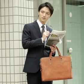 [マルイ] 【テレビ ドラマ使用】2WAYアンティーク合皮ビジネスバッグ/ブリーフケース/オティアス(Otias)