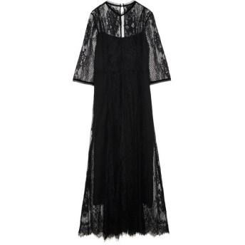 FRAY I.D レースロングドレス