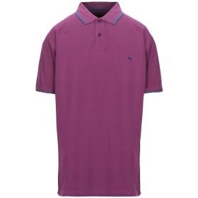《期間限定セール開催中!》HARMONT & BLAINE メンズ ポロシャツ パープル 4XL コットン 100%