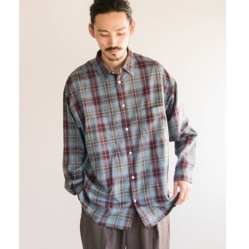 [マルイ]【セール】メンズシャツ(URBAN RESEARCH iD コットンチェックオーバーシャツ)/アーバンリサーチ(メンズ)(URBAN RESEARCH)