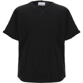 《セール開催中》GALLE Paris メンズ T シャツ ブラック S コットン 100%
